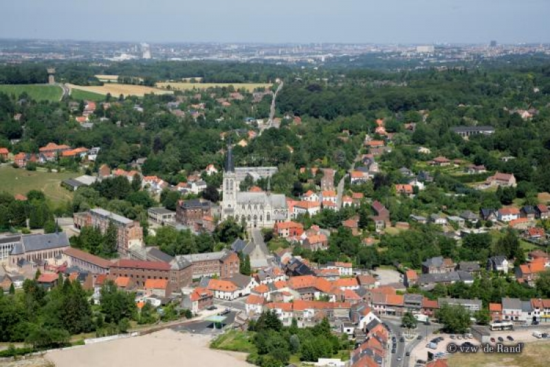 Luchtfoto Sint-Genesius-Rode